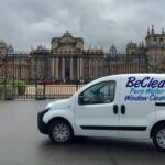 Be Clean domestic cleaning services company company van